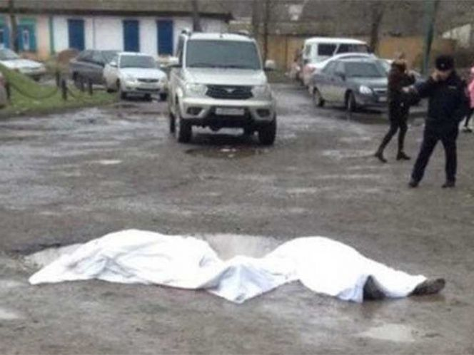 Tiroteo en iglesia de Rusia deja cinco muertos - Foto de @RT_russian