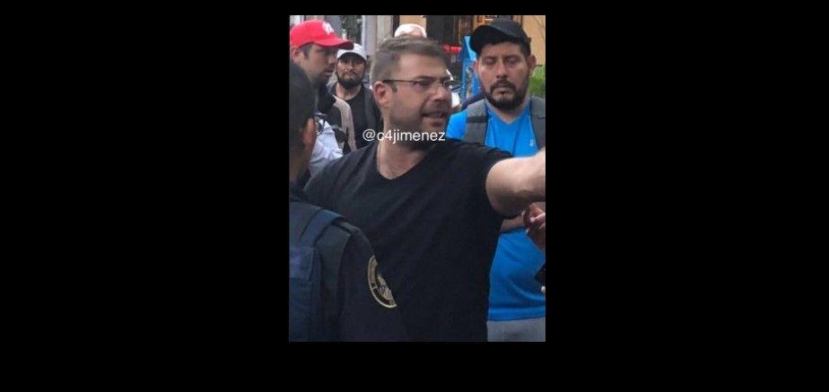 Yusef Tanús involucrado en supuesto intento de asalto en la Condesa - Foto: @c4jimenez