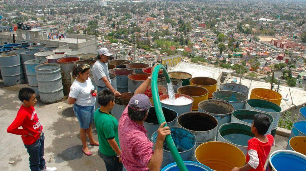 Alrededor del 7 por ciento de los hogares mexicanos no tienen agua - Foto de Animal Político