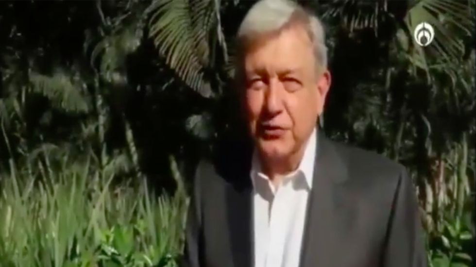"""""""Voy a tirar la 'Pejemoña' a Donald Trump"""": López Obrador - Captura de Pantalla"""