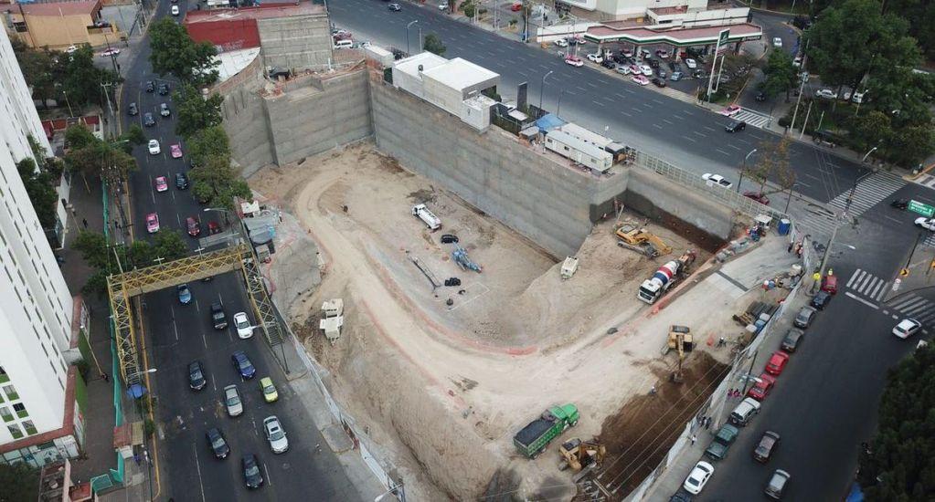 Juez ordena suspender construcción de departamentos frente a CU - Foto de @vcinosreyescoyo