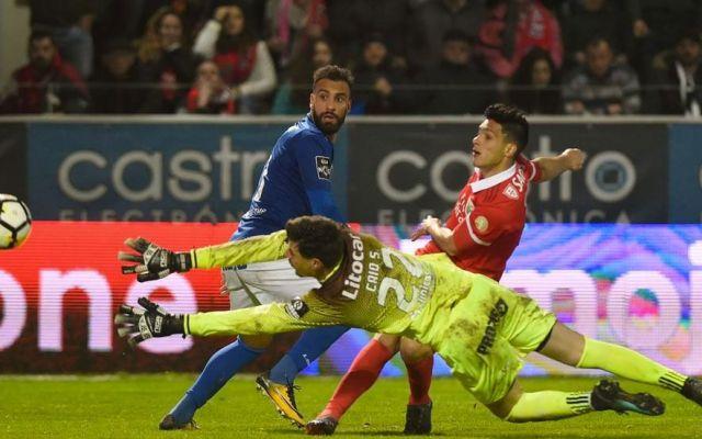 #Video Jiménez abrió el marcador y dio asistencia para el segundo - Foto de Benfica