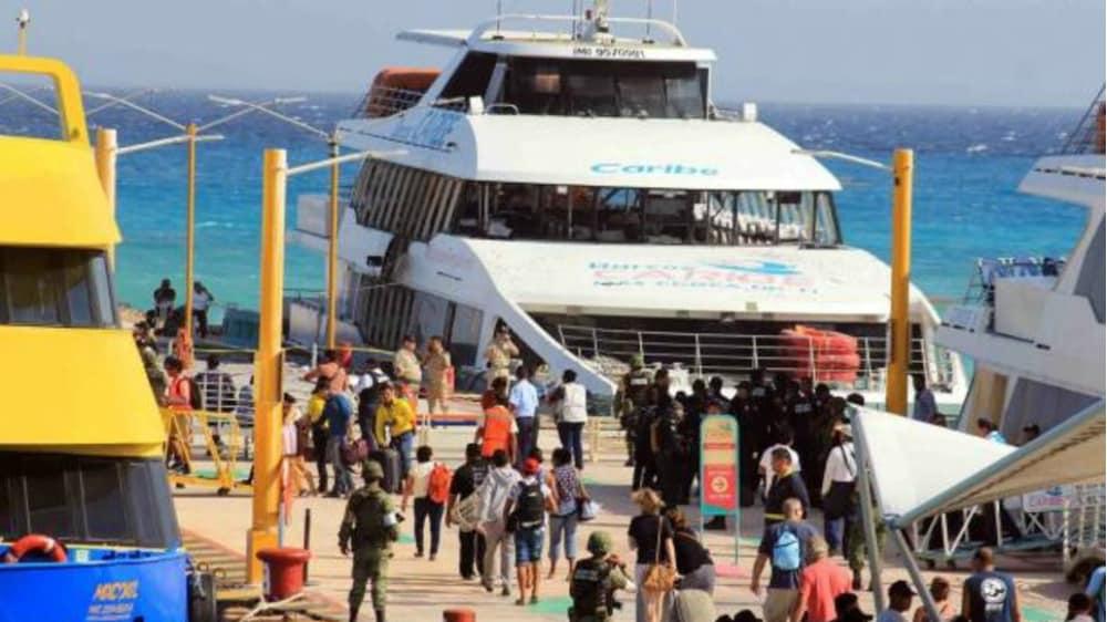 Indaga PGR explosión en embarcación del padre de Roberto Borge - Foto: Cuartoscuro.