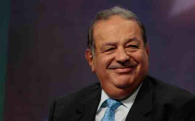 Carlos Slim niega incertidumbre con López Obrador - Foto: Getty Images.