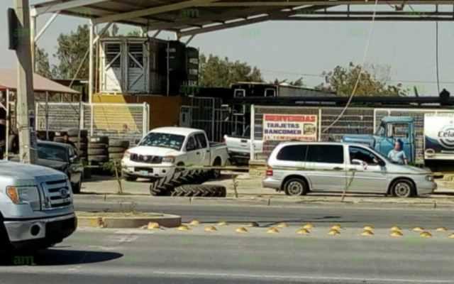 #Video Atacan en Celaya a elementos de la Policía Ministerial - Foto: AM.