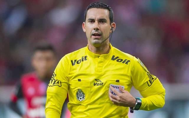 El árbitro César Ramos representará a México en el Mundial - Foto de @futbolestodo