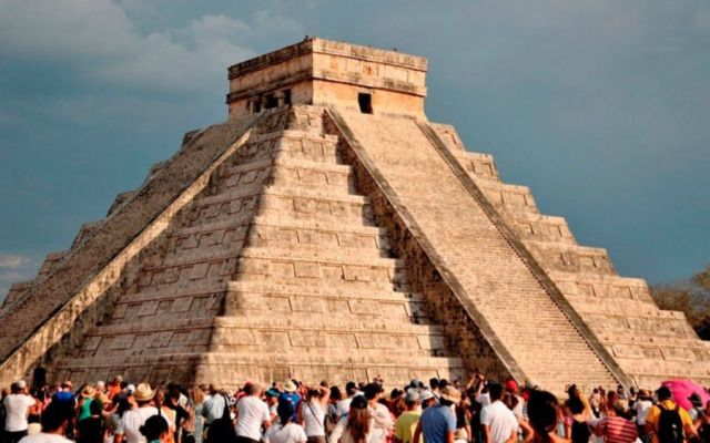 Esperan más de 13 mil turistas en Equinoccio de Primavera en Yucatán - Foto: INAH.
