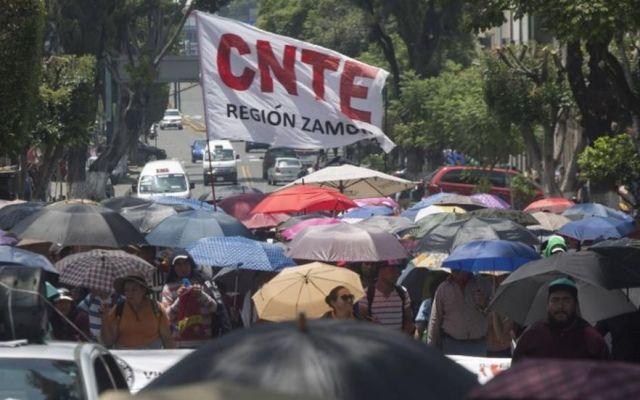 Reforma educativa es una imposición: CNTE - CNTE