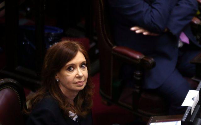 Tensión en Senado argentino por petición de desafuero a Fernández de Kirchner - Foto de Reuters/Marcos Brindicci