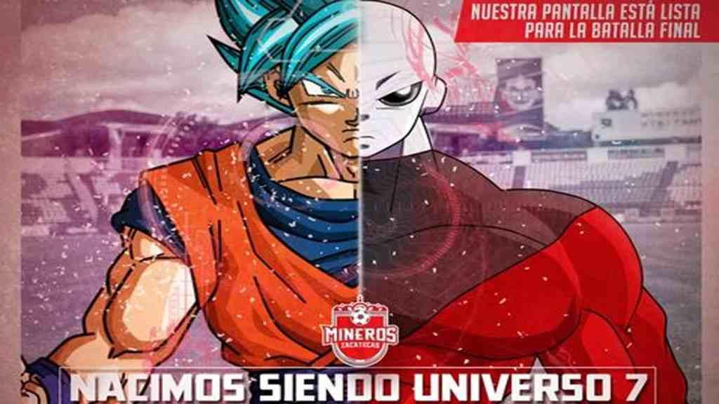 Mineros de Zacatecas transmitirán final de Dragon Ball Super - Foto de @MinerosFc