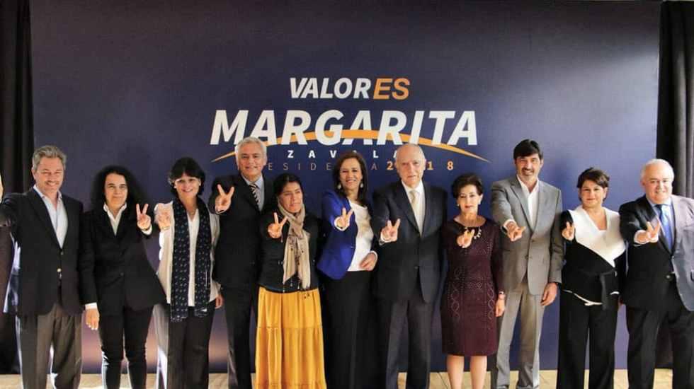 Retiro de Margarita Zavala tomó por sorpresa a su equipo de campaña - Foto de @Mzavalagc