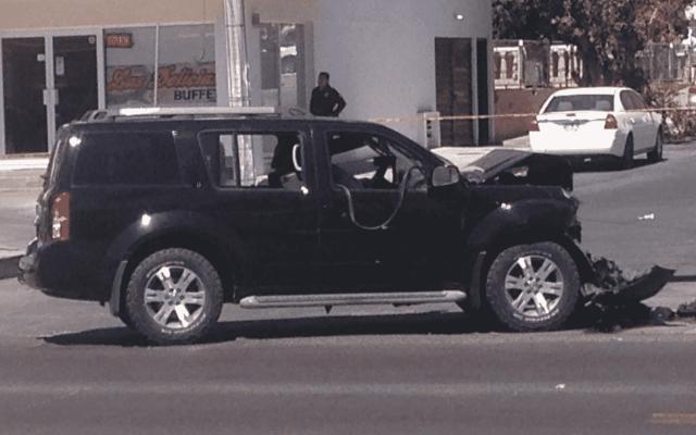 Comando intercepta y asesina a comandante de Guaymas - Foto de Twitter