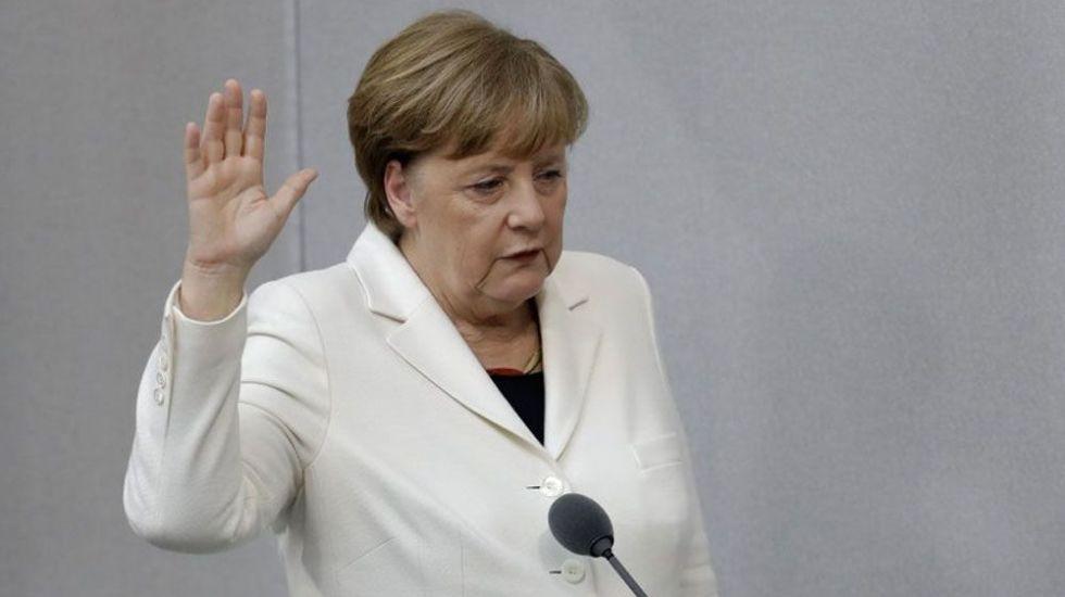 Merkel juramenta por cuarto mandato como canciller de Alemania - Foto de AP