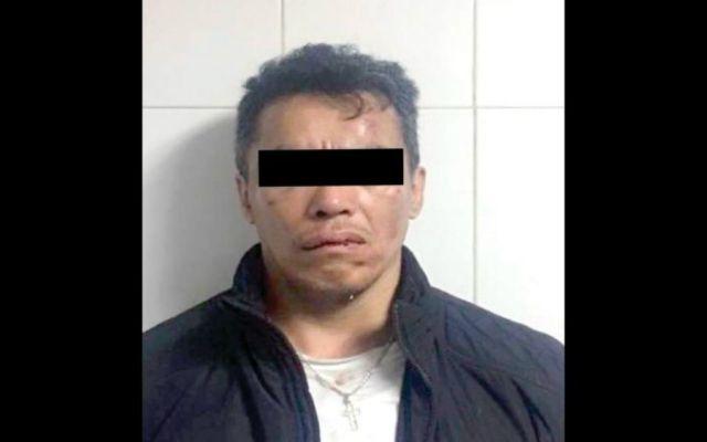 Capturan al asaltante de diplomático qatarí; cae por quinta vez en la cárcel - Foto: PGJ CDMX.
