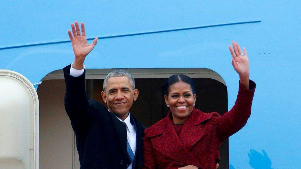 Los Obama en pláticas con Netflix para lanzar serie - Foto de Reuters