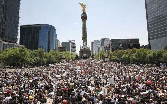 Prevén marchas en la Ciudad de México por Día del Trabajo - Prevén tres movilizaciones en la Ciudad de México
