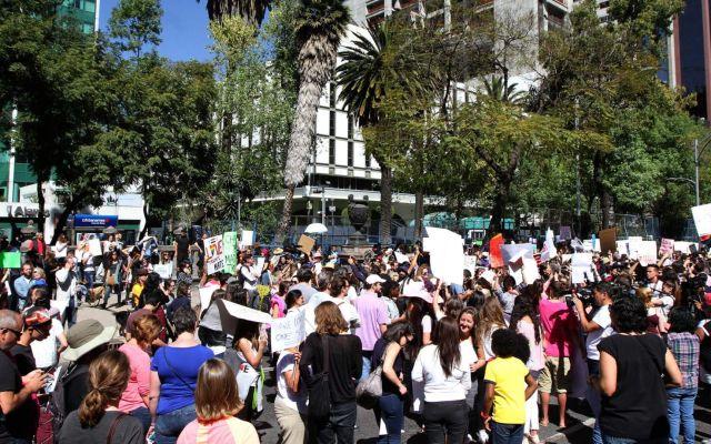 Manifestaciones y bloqueos en la Ciudad de México - Foto de archivo