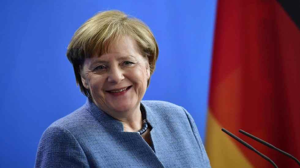 Angela Merkel logra acuerdo con países de la UE a favor de migrantes - Angela Merkel. Foto de AP