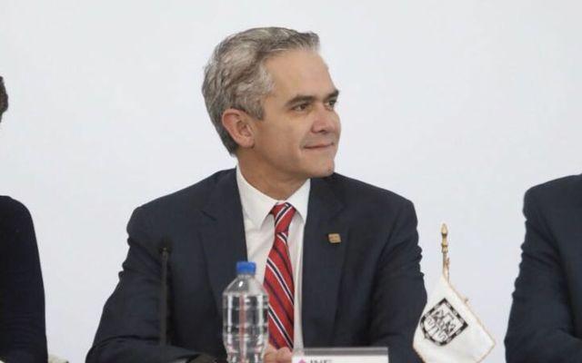 Mancera acepta interés en ser fiscal general de la nación - Foto de Twitter Miguel Ángel Mancera