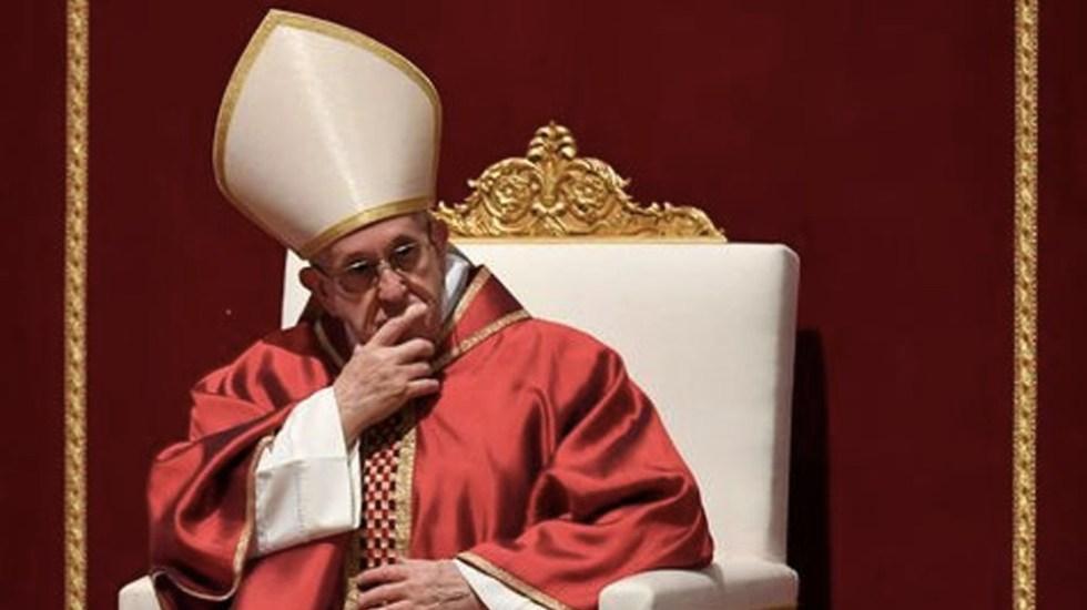 """""""Si Papa incluyó el tema del aborto en exhortación, es porque lo considera una de sus prioridades"""": Beltramo - Foto de AFP"""