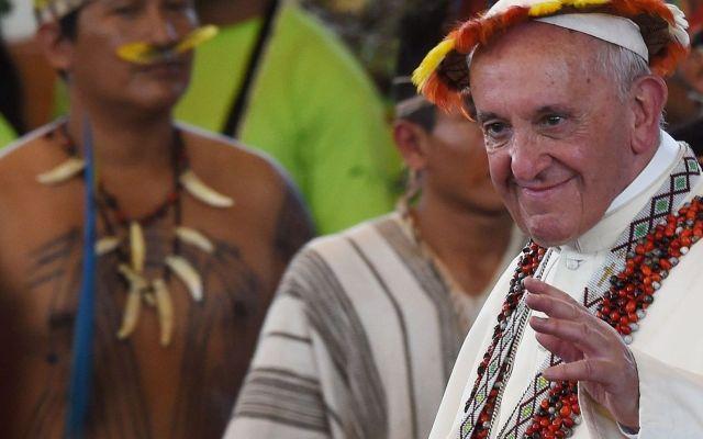 El polémico sínodo del papa sobre el Amazonas - Foto de Internet