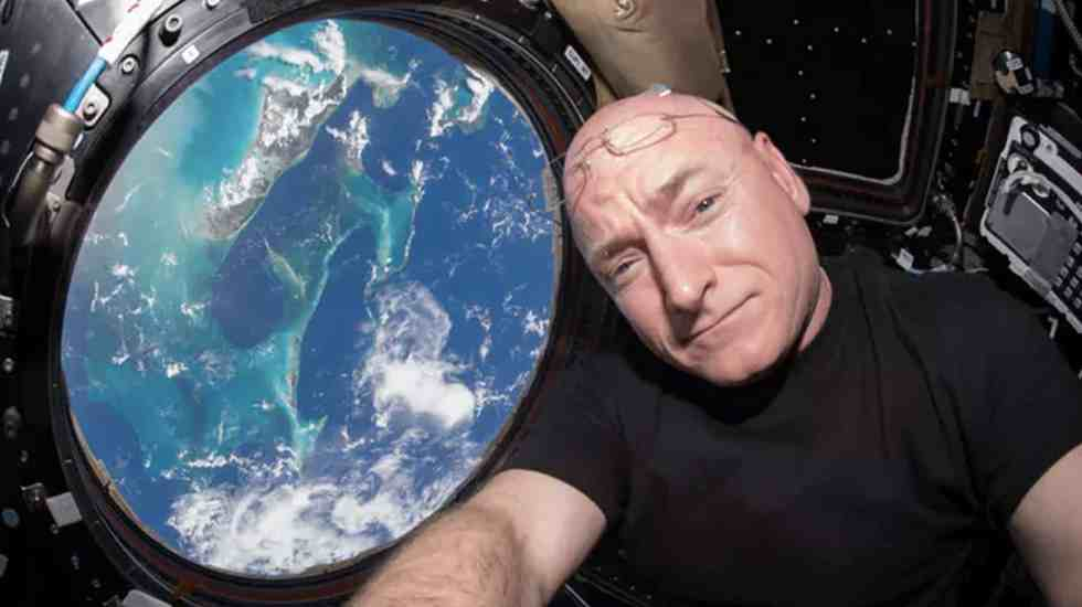 Foto de Twitter Scott Kelly