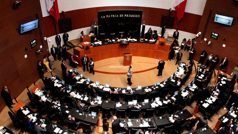 Senado aprueba en comisiones el TPP11 - Senado de la República. Foto de Archivo