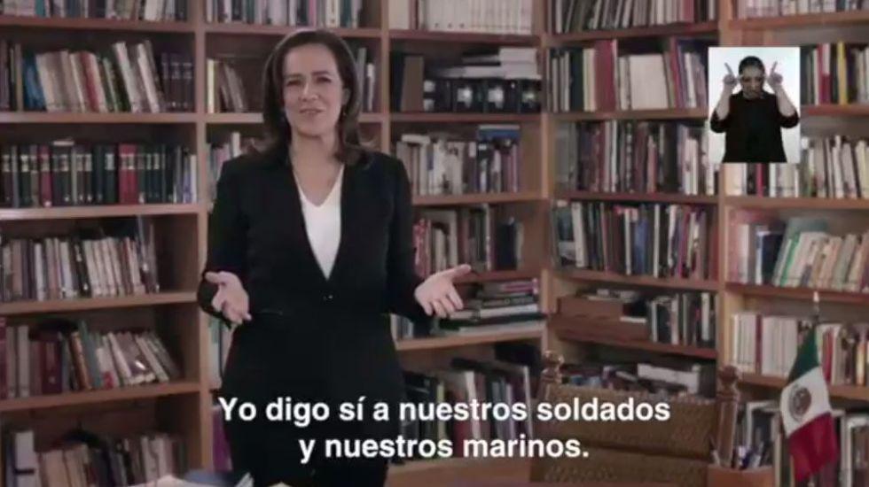 Primer spot de Margarita Zavala