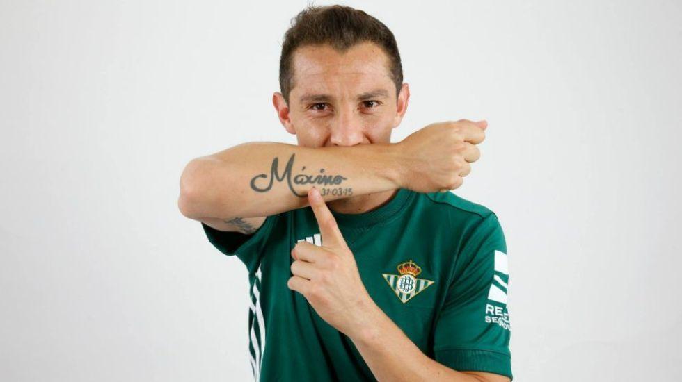 Betis ha dosificado a Guardado para que llegue bien al Mundial - Foto de Facebook.