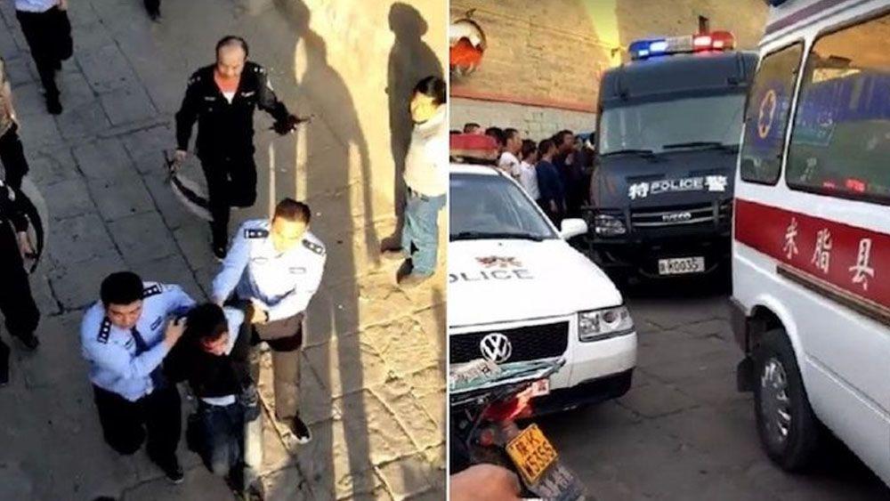 Suman nueve muertos tras ataque con cuchillo en China - Foto de internet