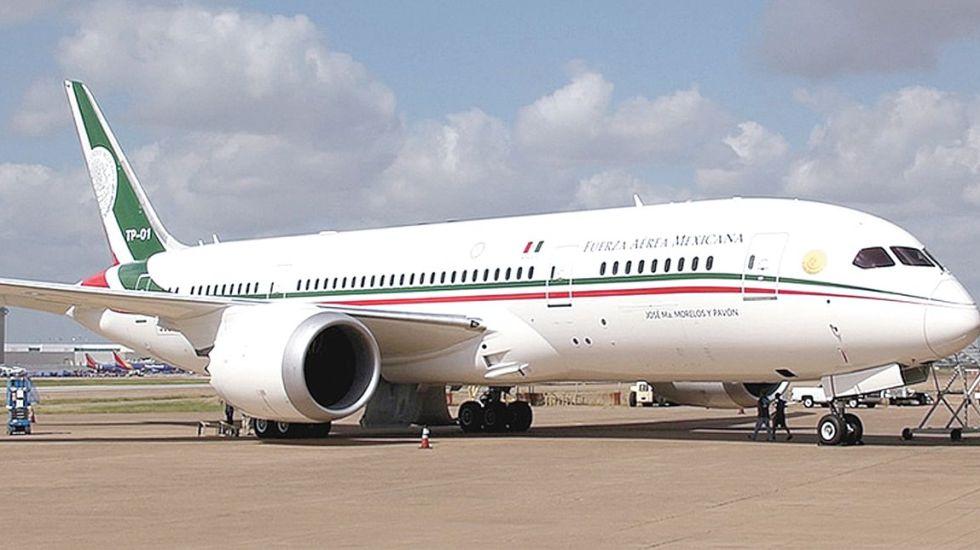 Presupuesto 2019 incluye 416 mdp para avión presidencial - Avión Presidencial de México. Foto de Internet Peña Nieto