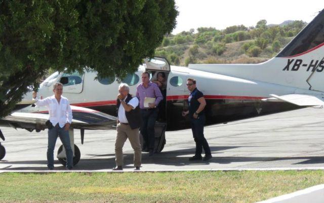 Acusados de desfalco facturaron avión privado utilizado por AMLO - Foto de Internet