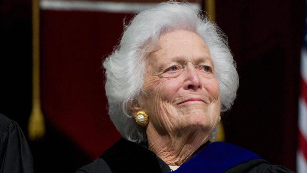 Confirman problemas de salud en Barbara Bush, la ex primera dama de EE.UU. - Foto de Getty Images.