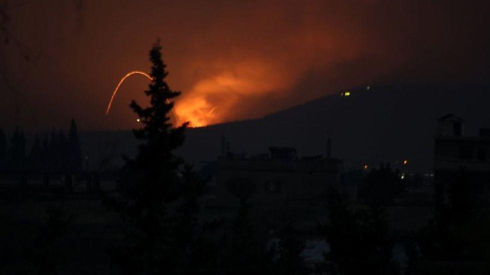 Ataque con misiles en Siria deja 26 muertos - Foto de Reuters
