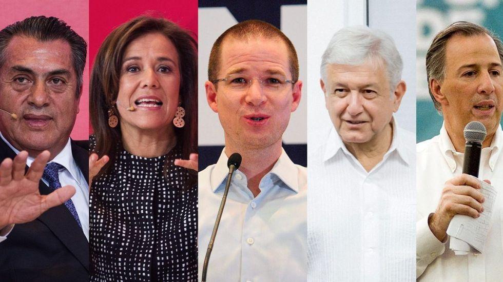 Los tuits de los candidatos previo al primer debate presidencial - Foto de Internet