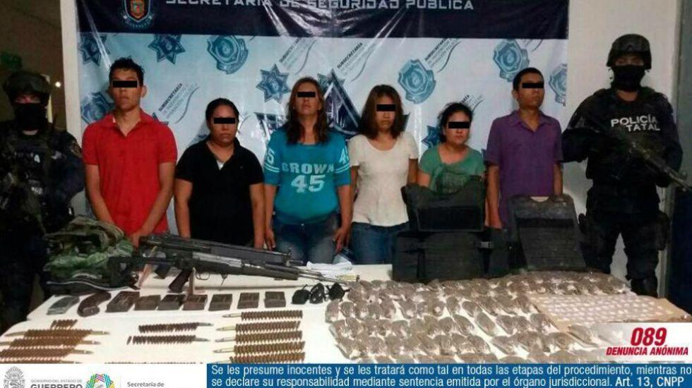 Detienen a otros 6 presuntos implicados en muerte de policías en Guerrero - Foto de Vocero Roberto Álvarez Heredia