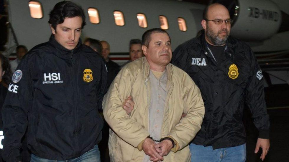 Defensa pide posponer cinco meses juicio de 'El Chapo' - Foto de Reuters