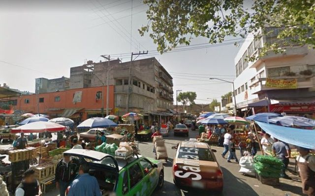 Hallan extremidad entre puestos ambulantes del Centro - Captura de Google Maps