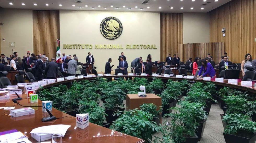 INE recibe peticiones de protección para candidatos - Foto de @INEMexico
