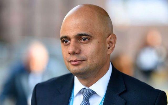 Nuevo ministro del Interior en Reino Unido es hijo de inmigrantes