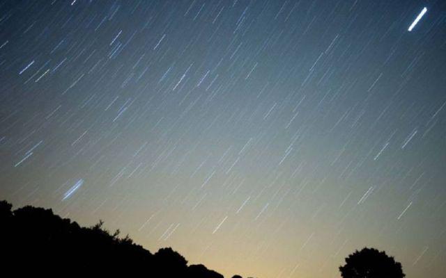 Lluvia de estrellas iluminará el cielo a partir de este lunes - Foto de Internet