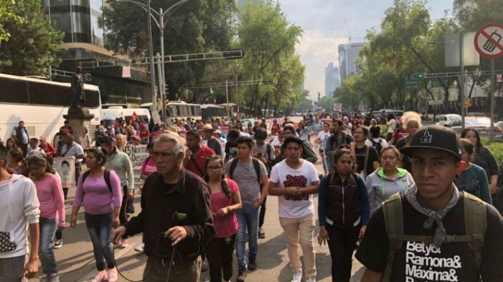 Concentraciones afectarán tránsito en la Ciudad de México - Foto de Noticieros Televisa
