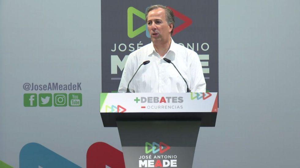 Meade propone a candidatos un debate semanal - Foto Especial