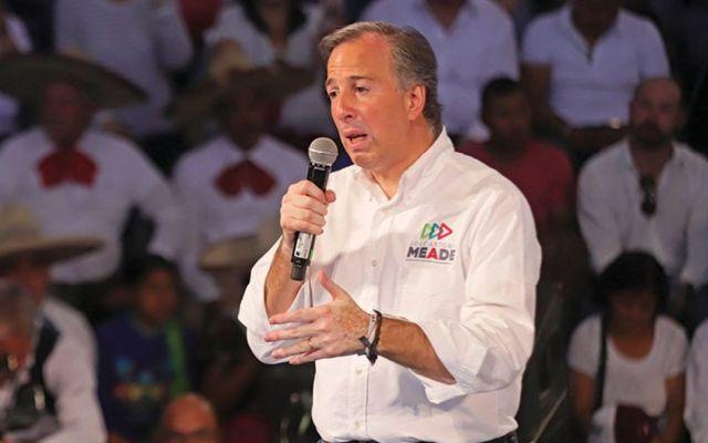 José Antonio Meade asegura que está en segundo lugar en encuestas - Foto de Internet