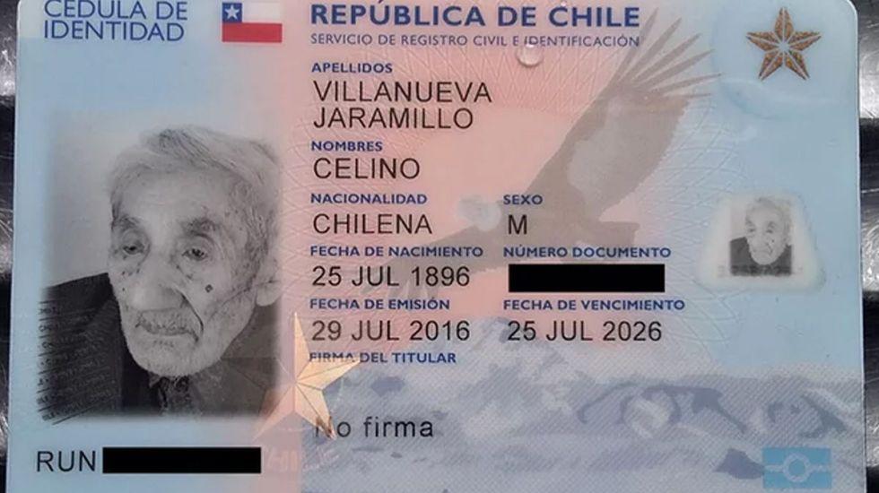 Muere en Chile el presunto hombre más viejo del mundo - Foto de Internet