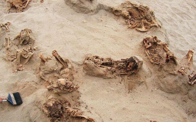 Hallan en Perú la mayor evidencia de sacrificio infantil en el mundo - Foto de National Geographic