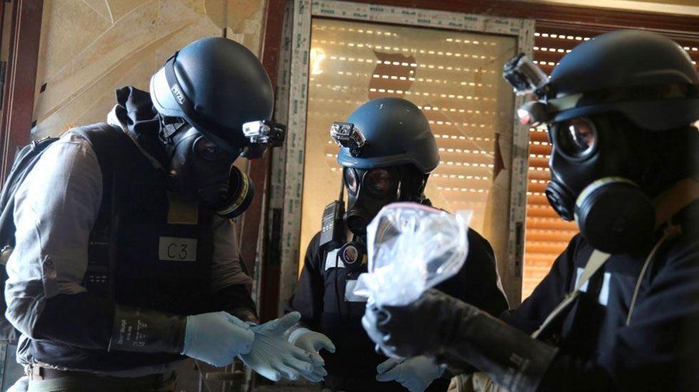 Atacan a personal de la ONU en Siria previo a investigación - Foto de AP