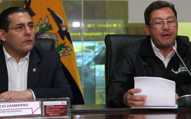 Renuncian ministros de Defensa y del Interior en Ecuador - Foto de El Comercio