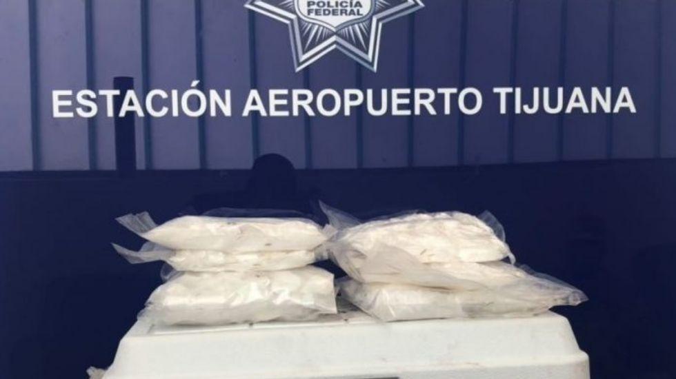Hallan metanfetamina en Tijuana oculta entre camarón crudo - Foto de Quadratín