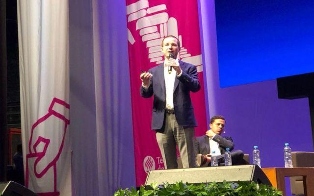 Integraría a candidatos a mi gabinete: Anaya - Foto del Tec de Monterrey